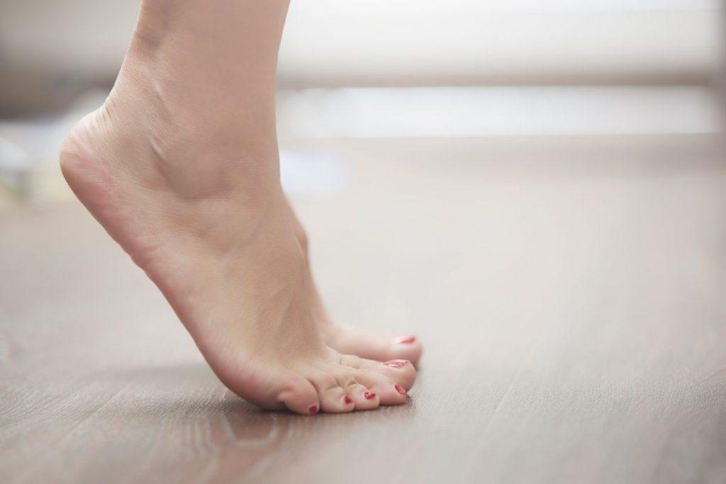 Ball of Foot Pain - aka Intermetatarsal Bursitis